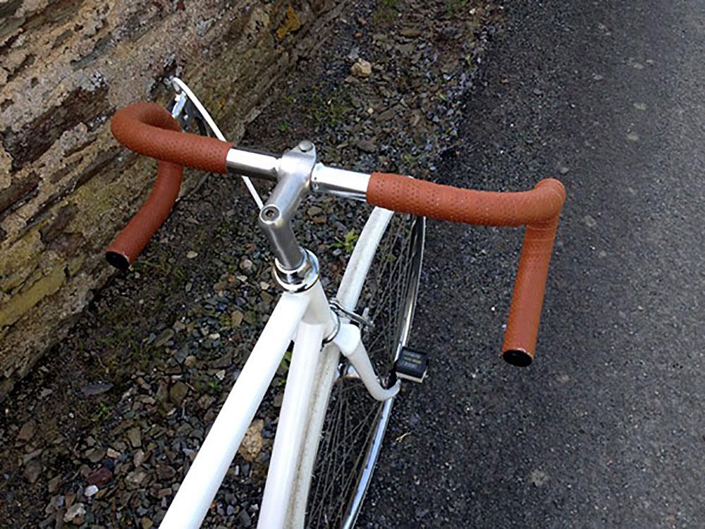 Vélo singlespeed sur base d'un vélo de course Talbot