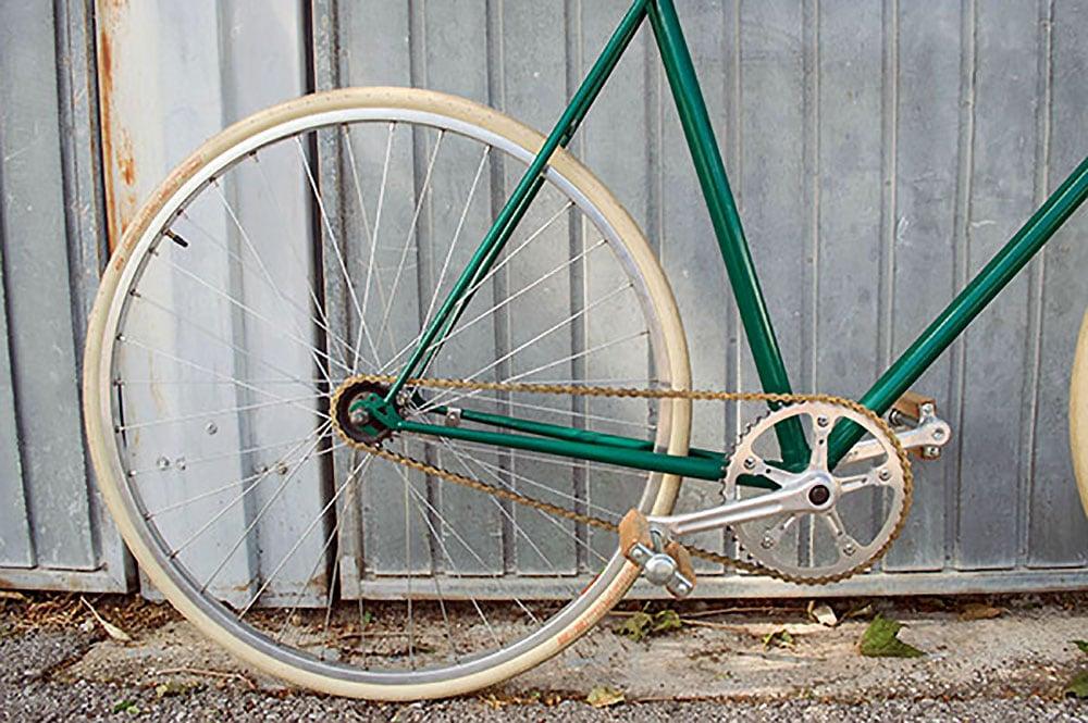 Vélo singlespeed vintage Peugeot made in Marseille