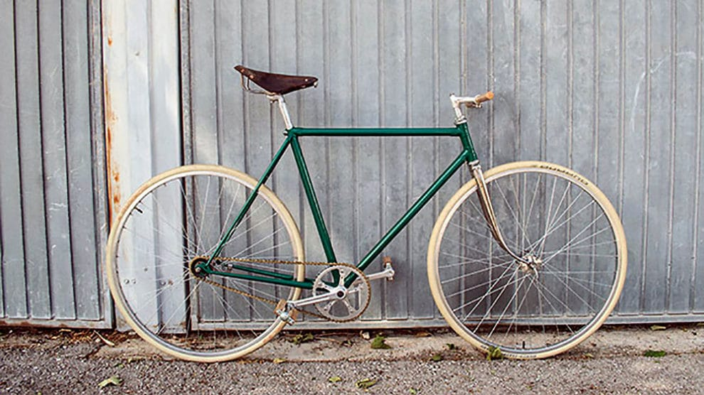 Vélo singlespeed vintage Peugeot made in Marseille