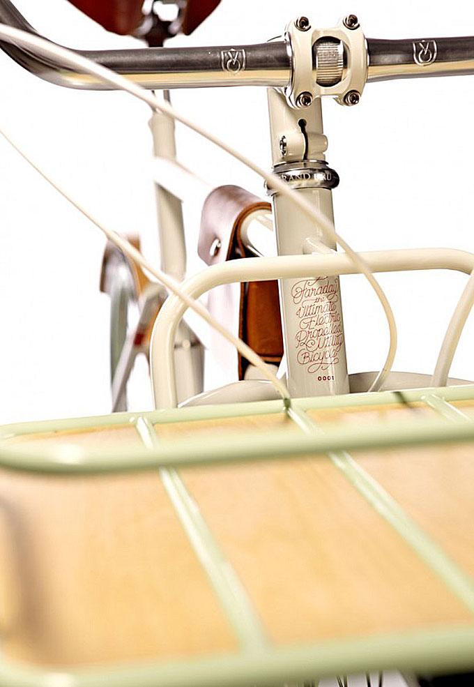 Vélo électrique Faraday Porteur au look vintage