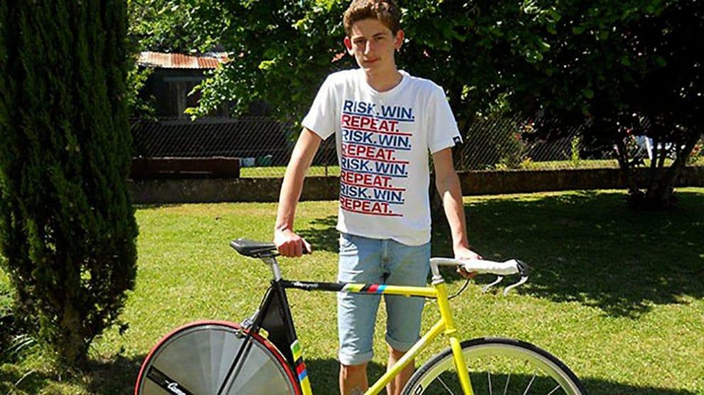 Vélo singlespeed de Matis sur une base d'un Veneto