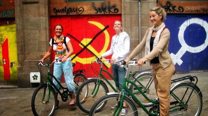 Visite insolite de Barcelone à vélo et en français