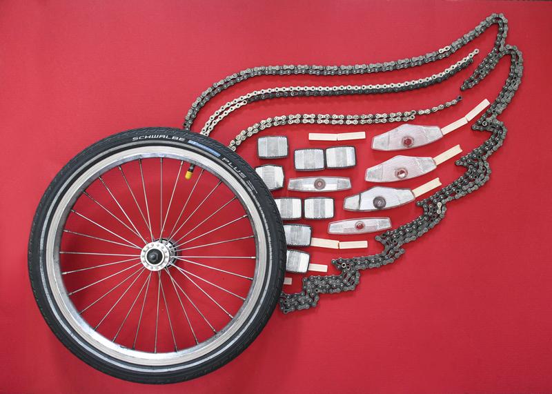 Plus de 100 créations avec des pièces de vélos !