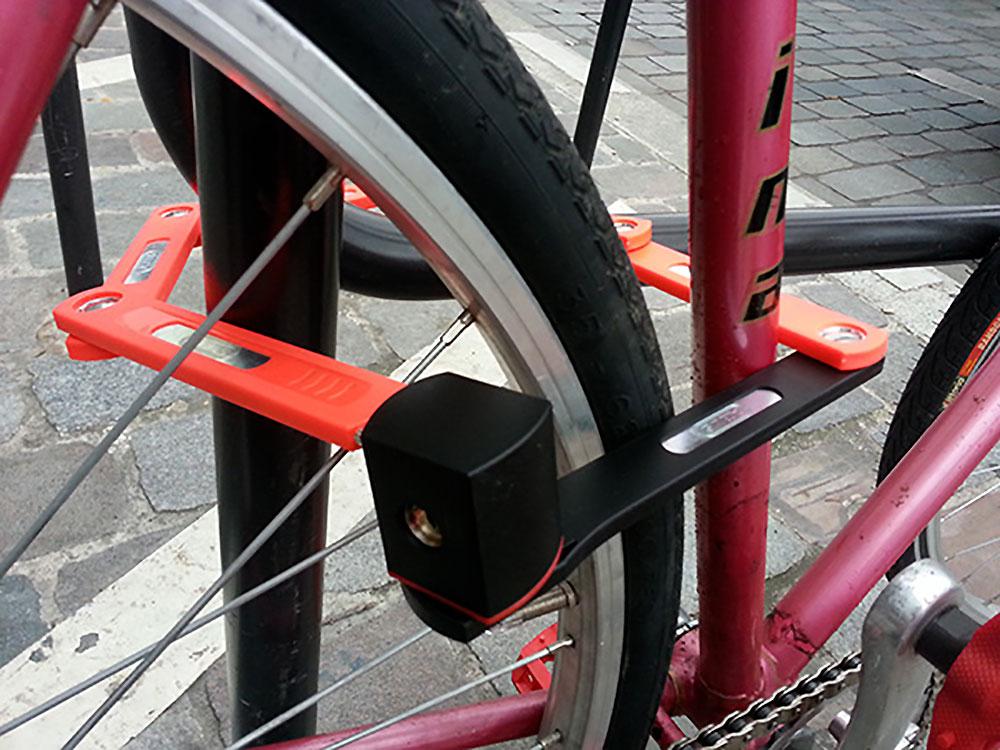 L'antivol de vélo pliable ST 5700 uGrip Bordo de chez Abus