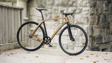 Tratar Bikes, le vélo singlespeed en bois au design élégant