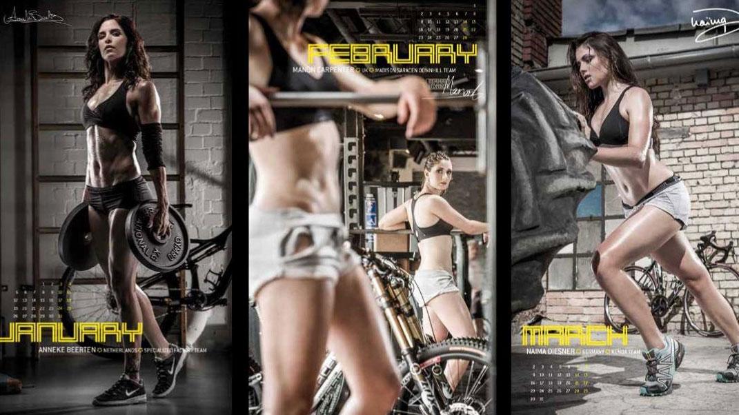 Le calendrier vélo sexy CyclePassion 2015 en vidéo