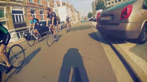 Compilation vidéo made in Belgique de Fixed Gear Ghent