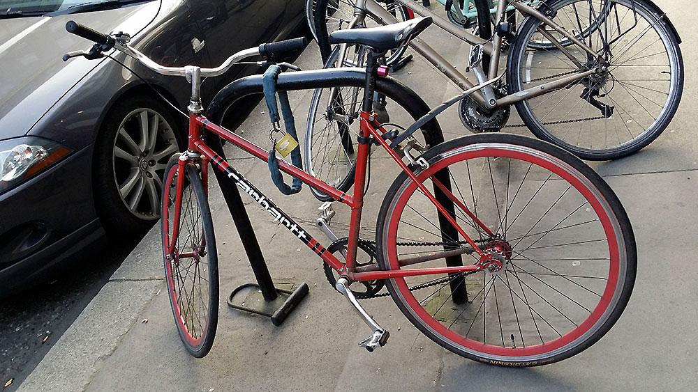Non, le vélo urbain n'est pas mort dans la ville de Londres