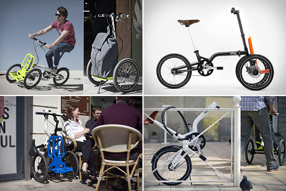 Kiffy, le mini tricycle cargo design de Norbert Peytour