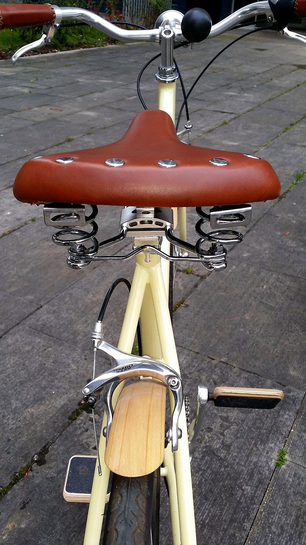La selle de vélo vintage tout confort de chez Endzone