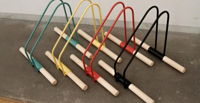 Les supports de v los color s wao bike stand v lo ville v lo urbain s - Fabriquer un support velo ...
