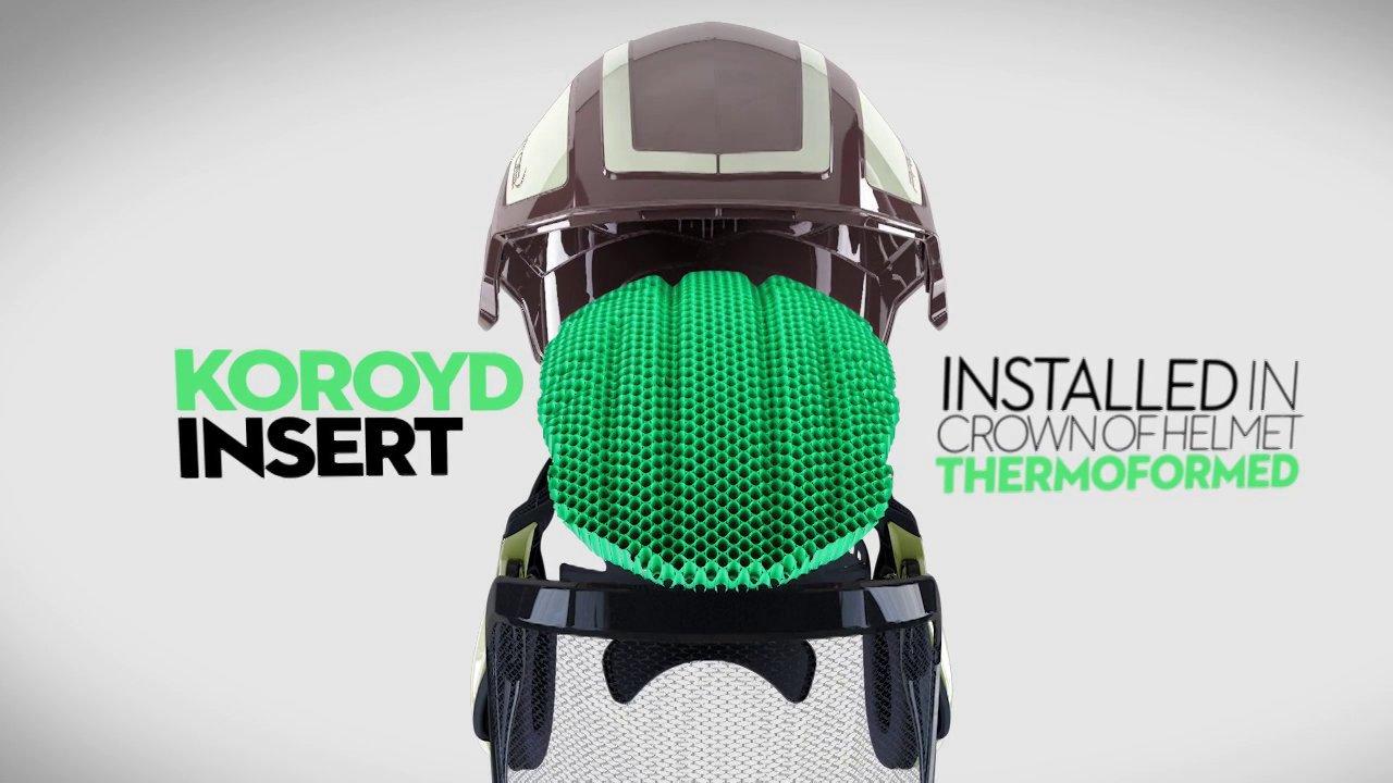 Un casque en matériaux intelligents qui absorbe les chocs