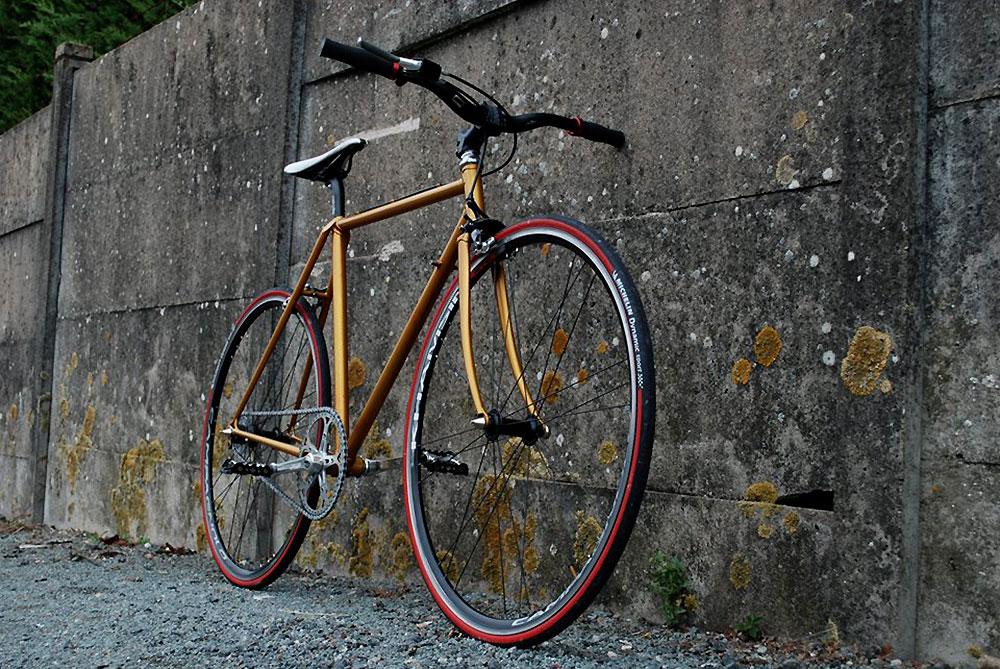 Notre internaute du jour Dimitri, nous présente son vélo singlespeed