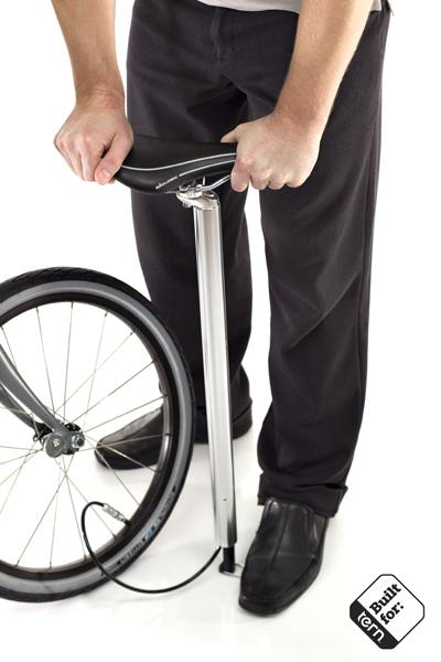 Faire de votre tige de selle une pompe à vélo !