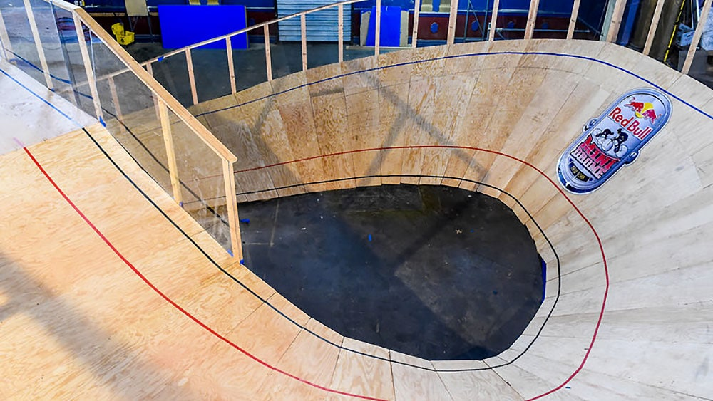 Compétition Red Bull mini drome de New York 2015