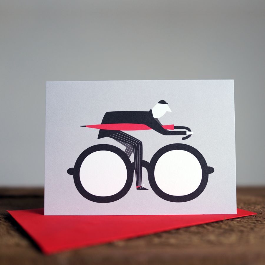 Les illustrations autour du vélo de Rebecca J Kaye
