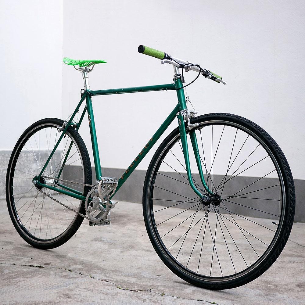 "Vélo Peugeot ""Record du monde"" singlespeed conversion"