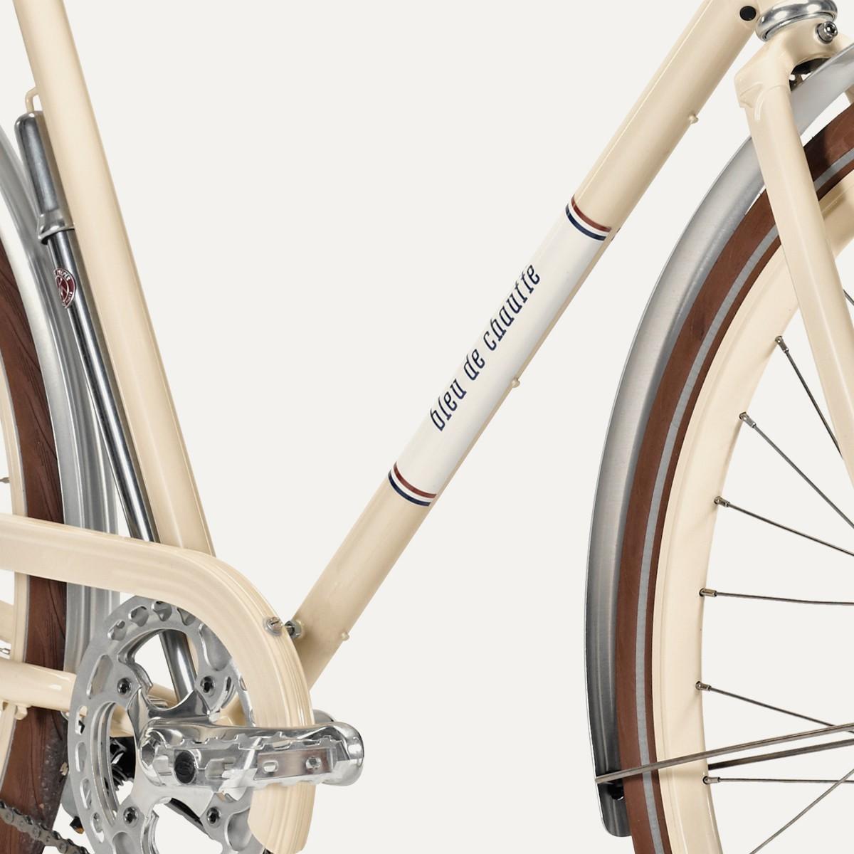 "Le vélo ""Vélodrome"" de Bleu de Chauffe & Cycle Angot"