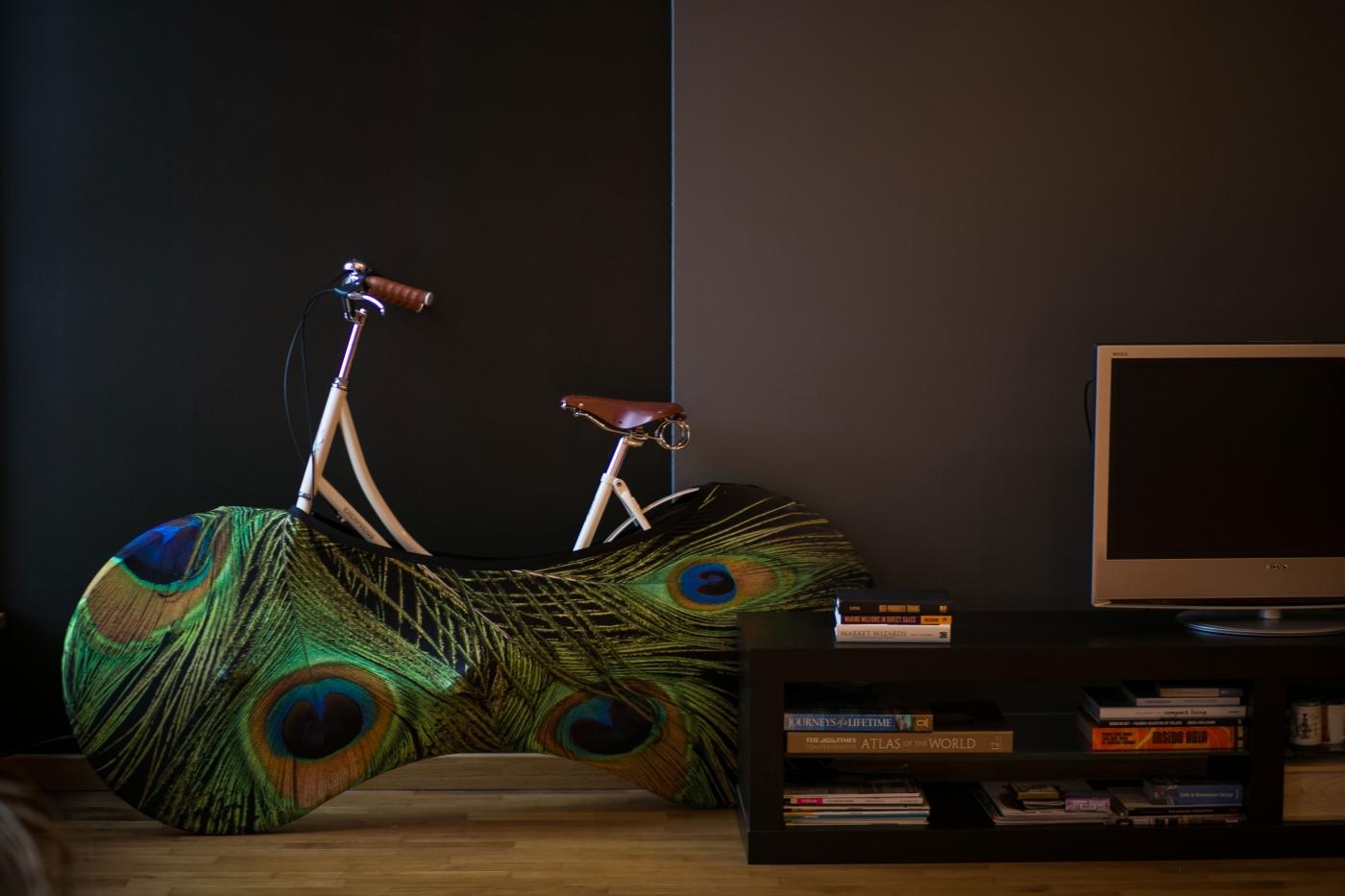 La chaussette de vélo Velo Sock pour que votre intérieur !