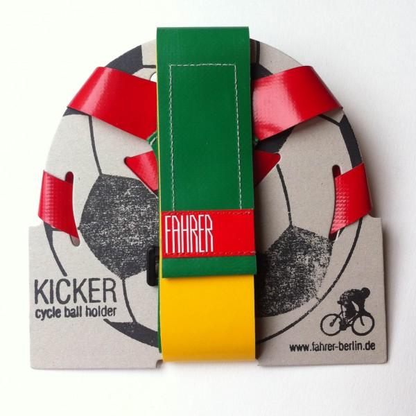 Porte ballon Kicker Fahrer pour votre vélo urbain