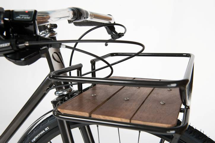 Vélo de type porteur des chez Cycles Victoire