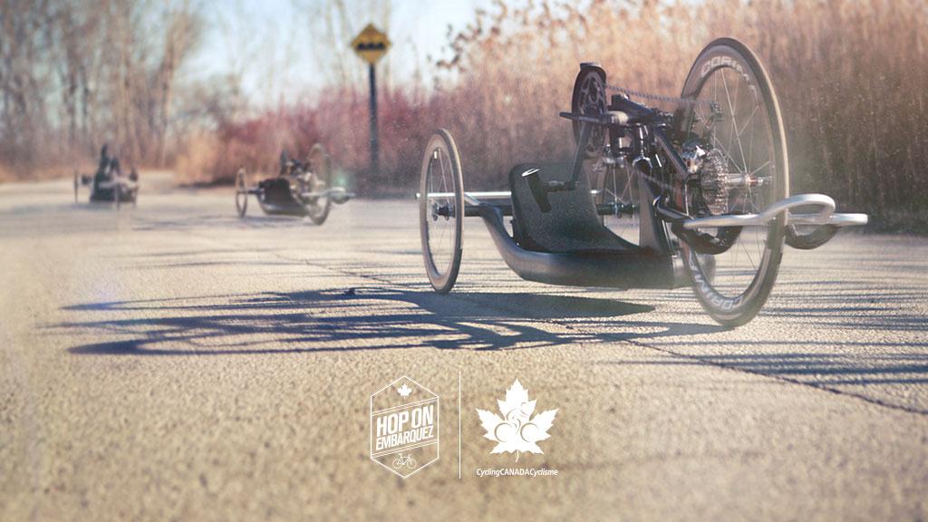 "Superbe vidéo Cycling Canada ""Hop On"""