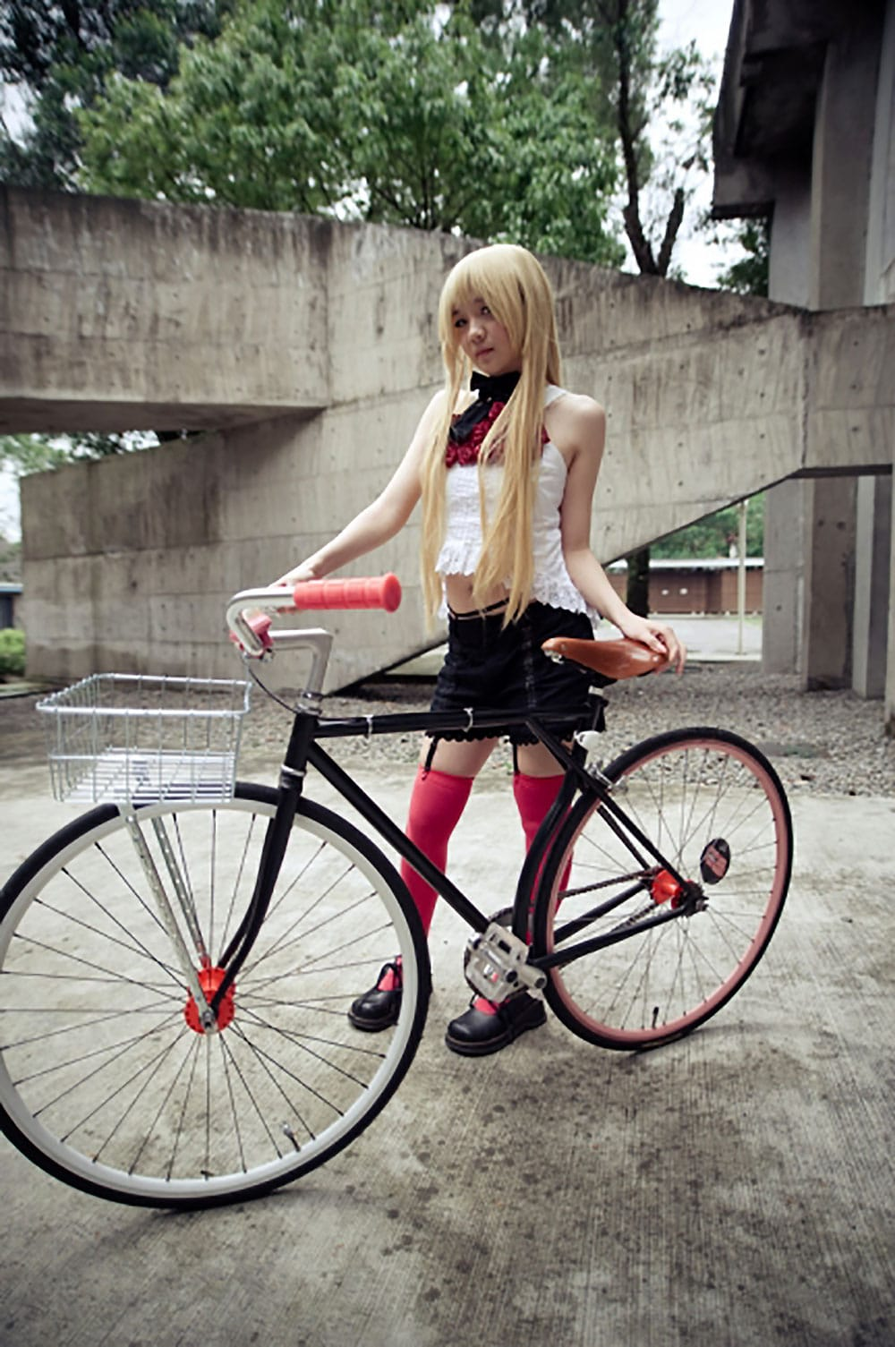 Fixed Gear Girl, un site de fixie Taiwanais comme nous !