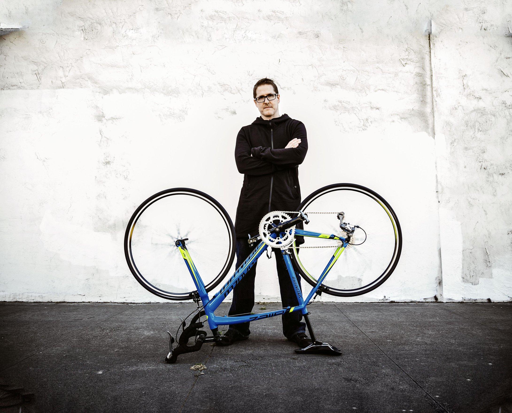 Faire de la musique avec les composants d'un vélo