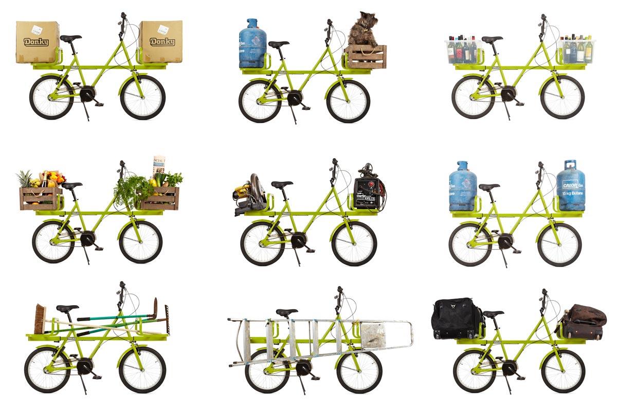 Donky Bike le vélo urbain doublement utilitaire !