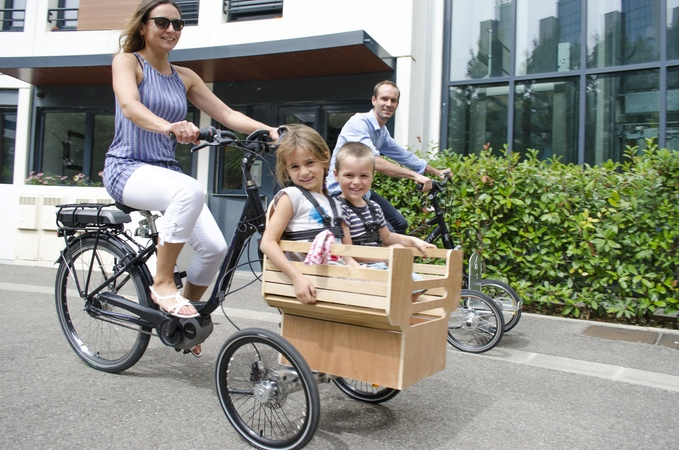 Add Bike, un triporteur urbain pour plus d'usages au quotidien