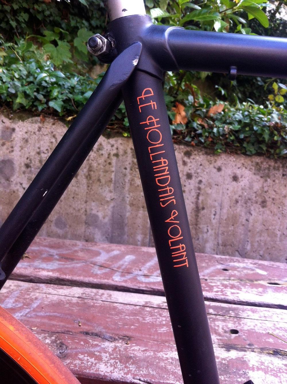 """Le vélo Cilo """"Le Hollandais Volant"""" made in Genève"""