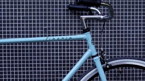 Cadre de vélo Liberia réhabilité en singlespeed par un de nos internautes