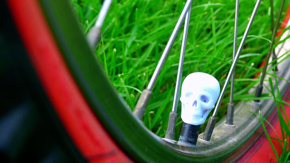 Vieux VTT MBK devenu un vélo singlespeed par Julien
