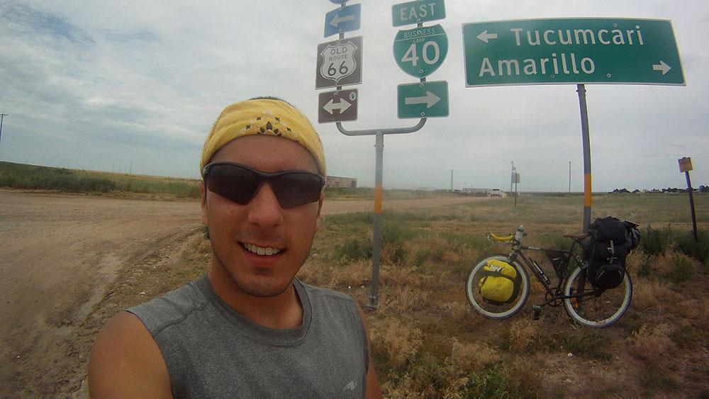 William St-Pierre a fait toute la Route 66 en fixie !