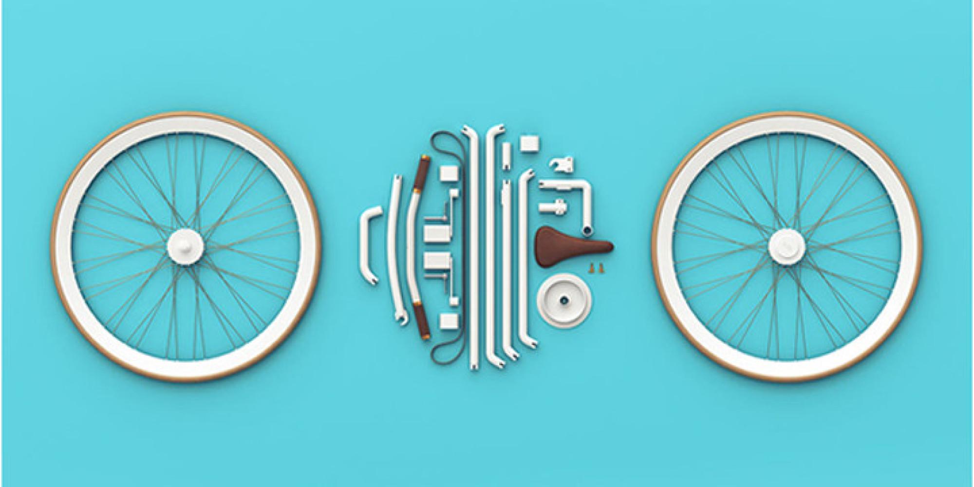 Kit Bike, le vélo urbain qui se plie dans un petit sac