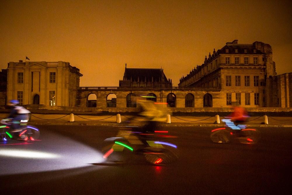 Retour sur le Light Ride des Heures Magiques with Google