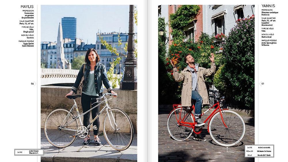 """Le livre """"Vélos Urbains"""" disponible le 22 octobre 2015"""