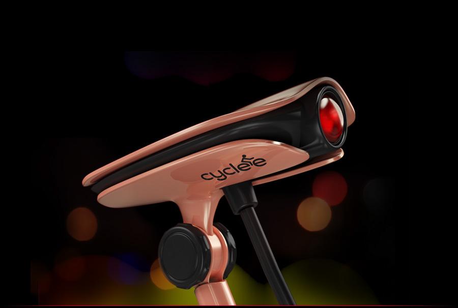 Cyclee, projecteur de signaux lumineux pour cyclistes