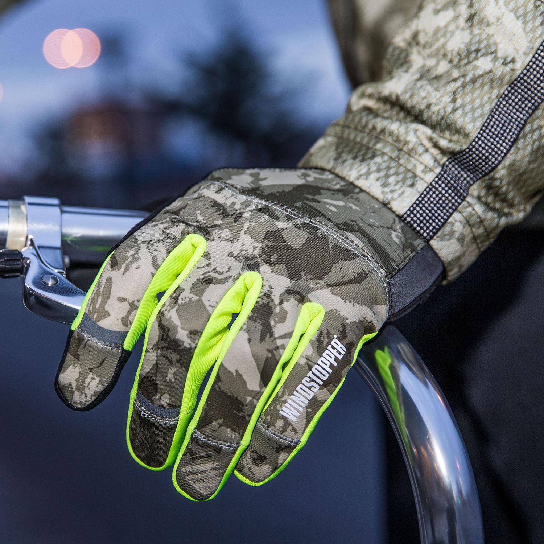 Gants Element Print Windstopper pour vélo urbain