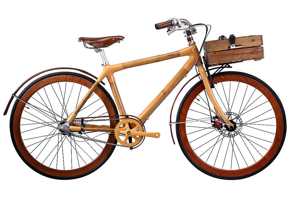Bamboobee, le cadre de vélo en bambou à monter soi-même !