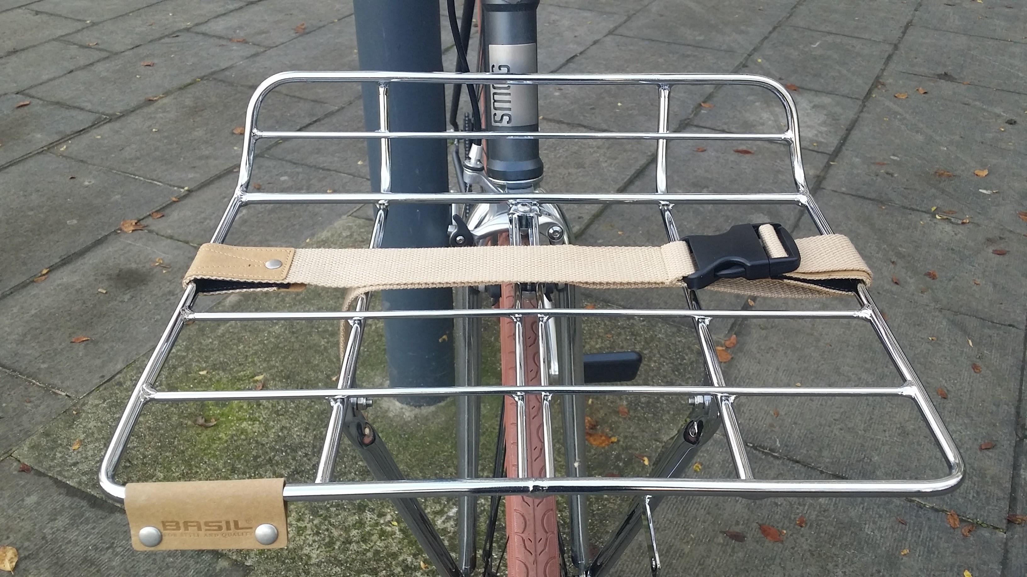 Porte-bagage Portland Basil avant sans rebord