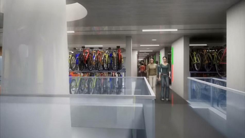 Utrecht va construire le plus grand parking vélo au monde