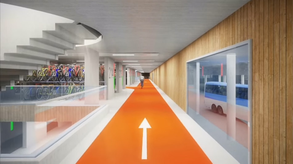 Utrecht va construire le plus grand parking vélo au monde