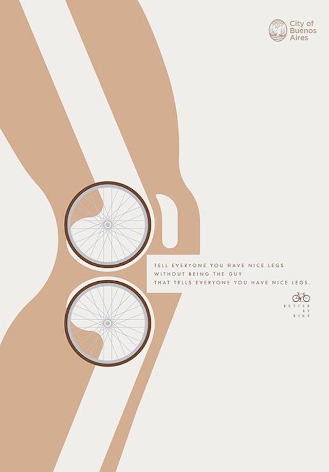 Better by Bike, une campagne pub à Buenos Aires