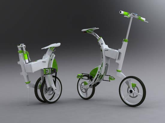 Le vélo électrique GrassHopper de David Gonçalves