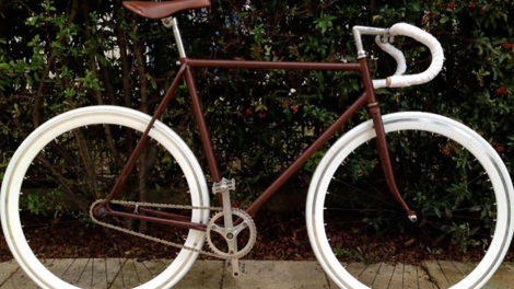 Un vélo singlespeed avec retropédalage made in Toulouse