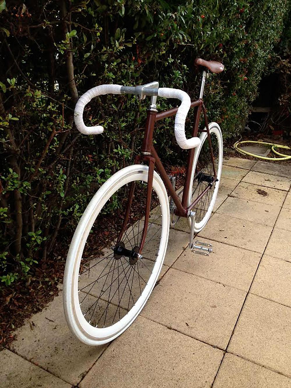 Un vélo singlespeed avec retropédalage made in Toulouse