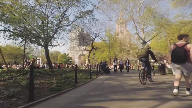 Vidéo NYC is Handsome de Jonathan Chapman
