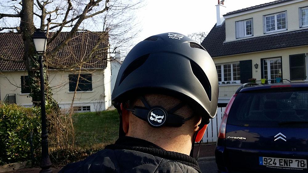 Nous avons testé le casque vélo urbain Kali Danu S250 noir mat