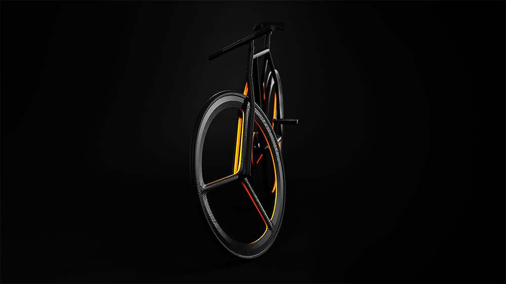 Superbe vélo fixie minimaliste Baik Bicycle de Ion Lucin